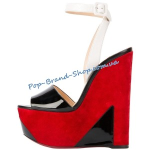 /2957-17667-thickbox/christian-louboutin-tromploia-wedge-sandals-white-red-and-black.jpg